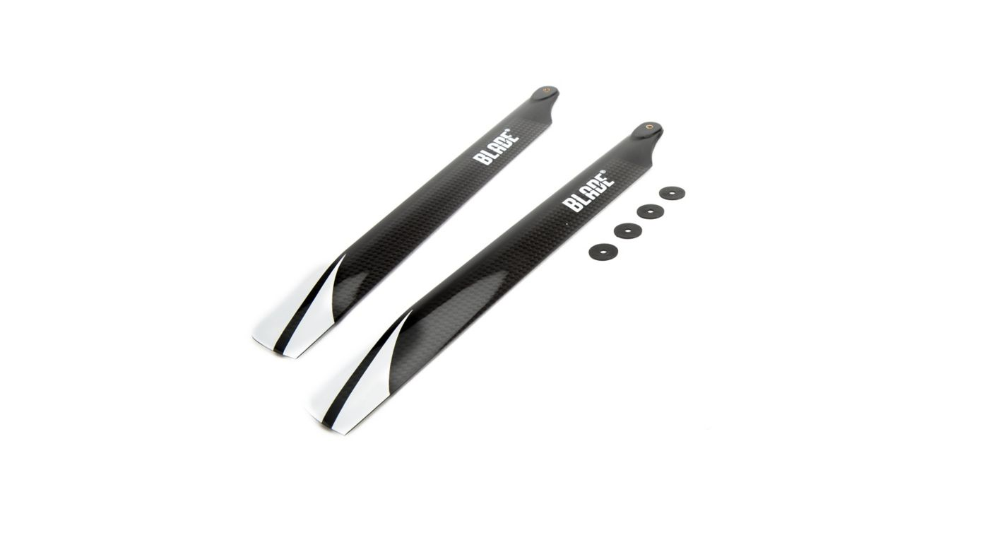 Blade C/F Mainrotor Blades: 270 CFX, Fusion 270 - SNHE