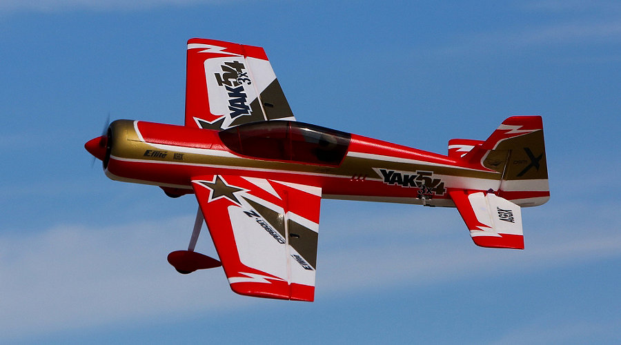 E-flite Carbon-Z� Yak 54 3X BNF Basic with AS3X� Technology - SNHE