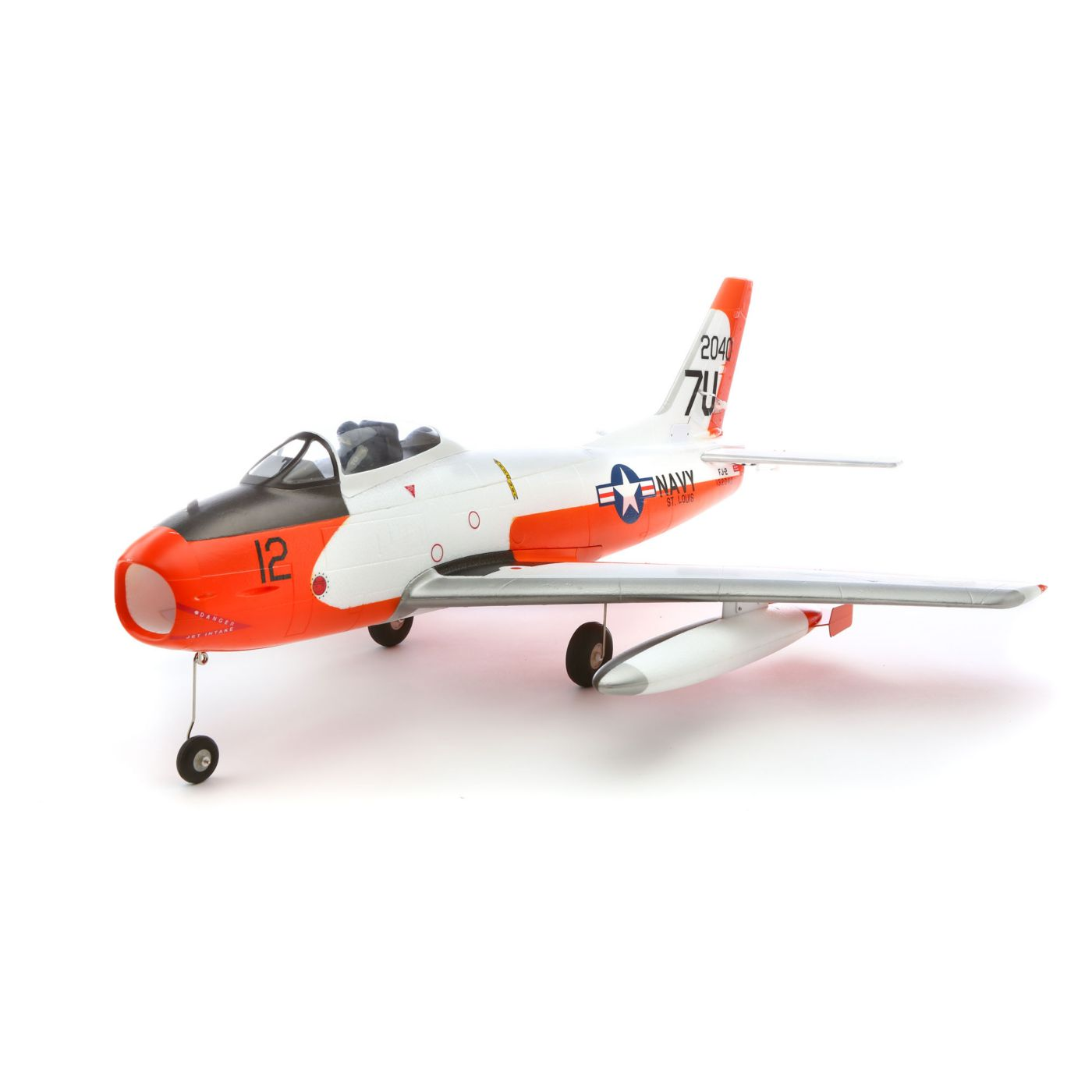 E-flite FJ-2 Fury 15 DF BNF Basic with AS3X� Technology - SNHE