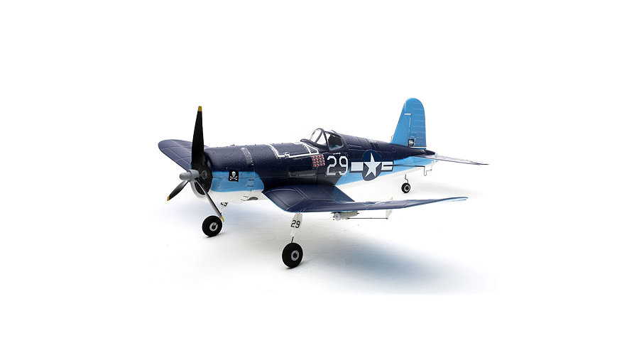 E-flite Ultra Micro F4U Corsair BNF with AS3X� Technology - SNHE