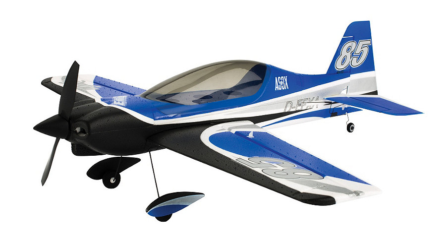 E-flite UMX Sbach 342 3D BNF Basic with AS3X Technology - SNHE