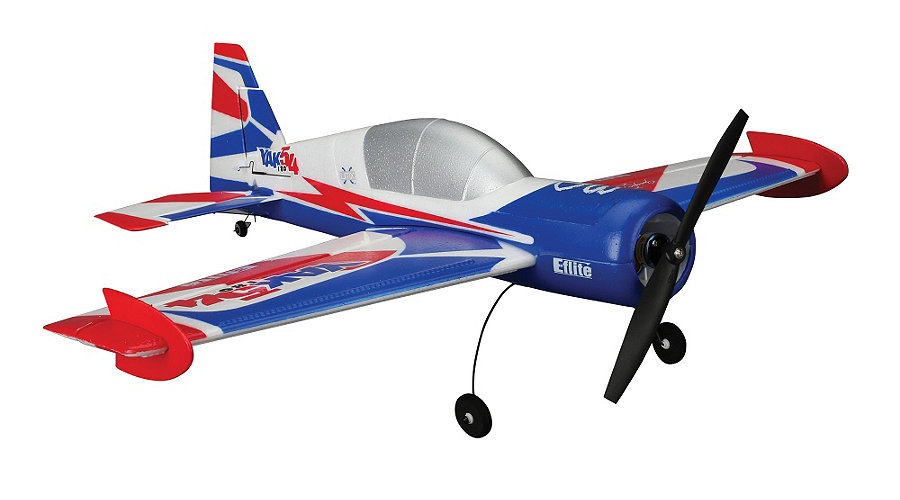 E-flite UMX Yak 54 180 BNF with AS3X Technology - SNHE