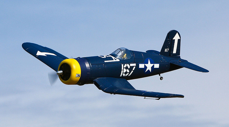 HobbyZone F4U Corsair S RTF with SAFE� Technology - SNHE