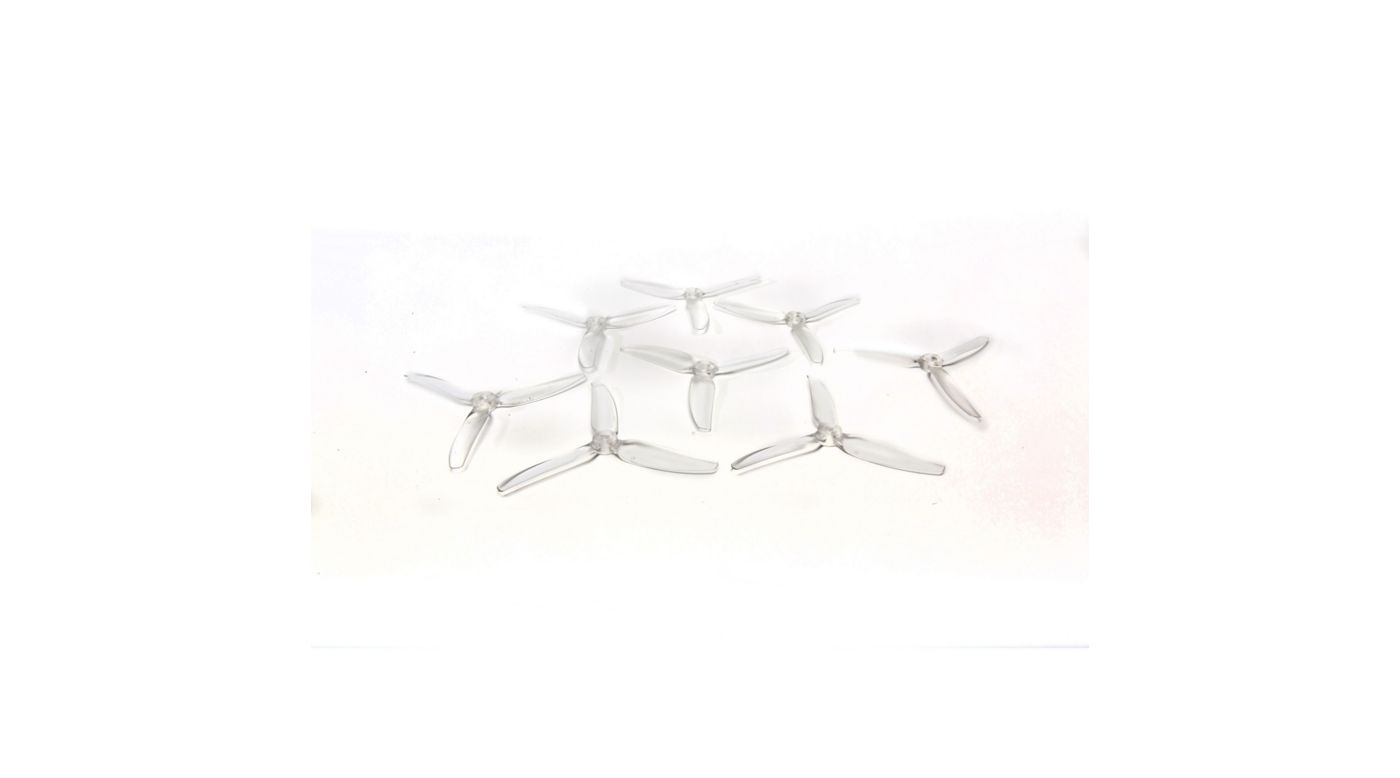 HQ Durable PC Prop <b>5X4X3V1S: Clear</b> (4CW+4CCW) - SNHE