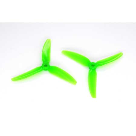 HQ Durable PC Prop <b>5X4.3X3V1S:</b> <font color=&quot;green&quot;><b>Green</b></font> (4CW+4CCW) - SNHE