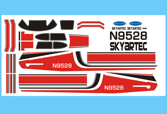 New Cessna 182 Stickers - SNHE