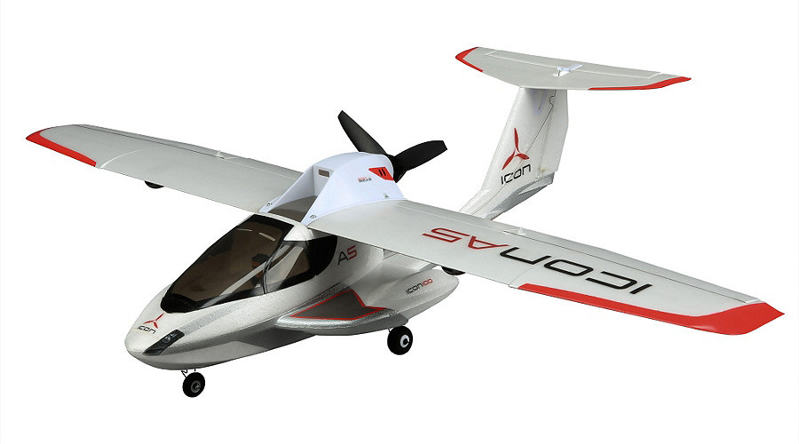 ParkZone Ultra Micro ICON A5 BNF with AS3X Technology - SNHE