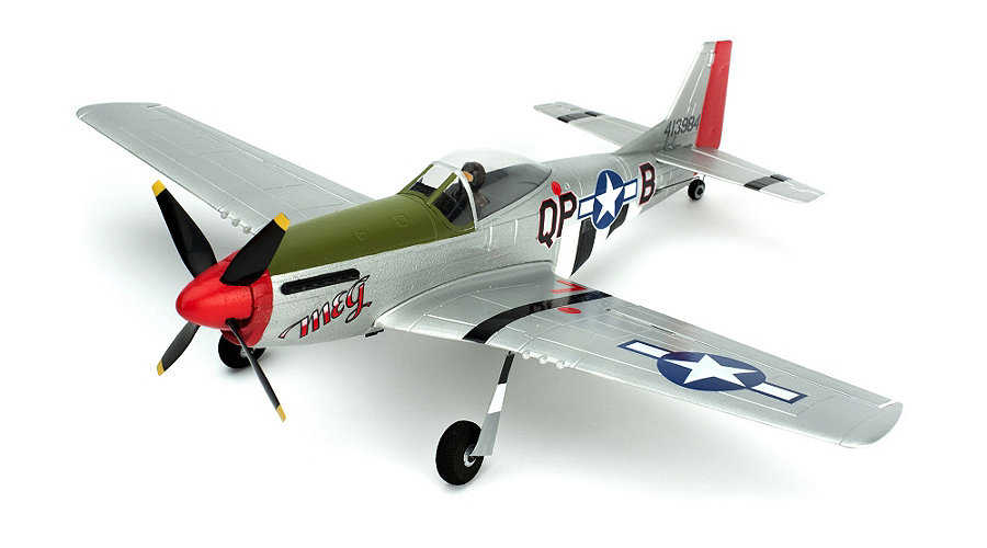 ParkZone Ultra Micro P-51D Mustang BNF with AS3X Technology - SNHE