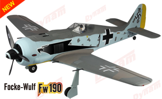 Dynam FW190 w/Retracts PNP - SNHE