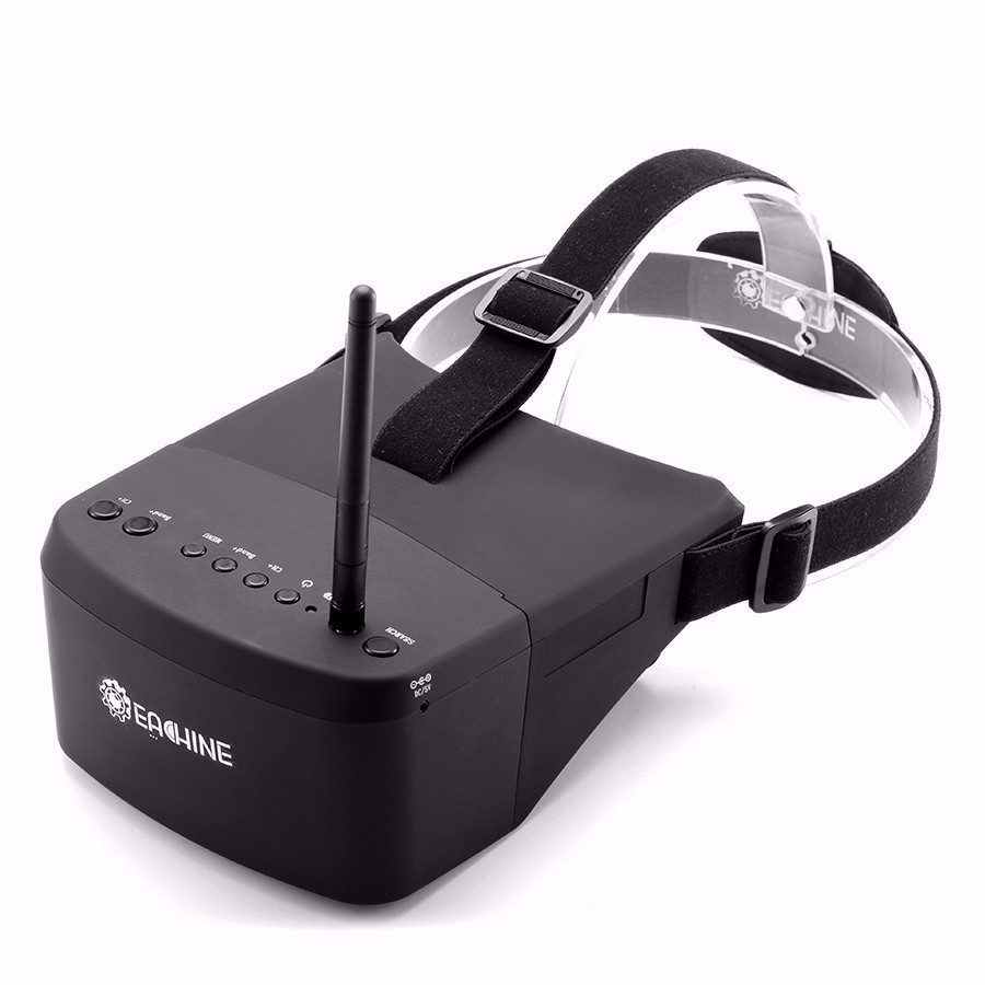 Eachine EV800 5 Inches 800x480 FPV Goggles 5.8G 40CH Raceband Auto-Searching Build In Battery - SNHE