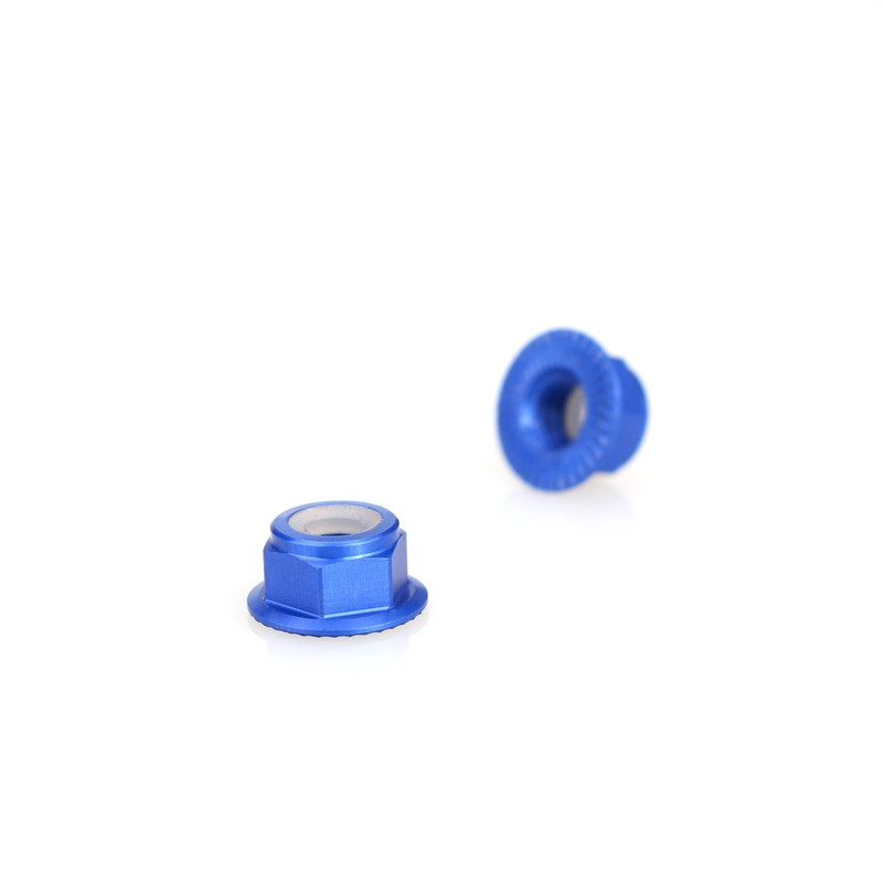 Emax Brushless Motor Aluminum Screws Nut For RS2205 RS2205S RS2306 - <b>(2 Pcs)</b> <font color=&quot;blue&quot;><b>Blue</b></font> - SNHE