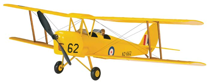 "Great Planes de Havilland Tiger Moth ARF 30"" - SNHE"
