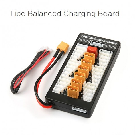 XT60 Lipo Parallel Balanced Charging Board - SNHE