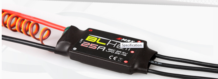 EMAX BLHeli Series 25A ESC (ONESHOT Available) - SNHE