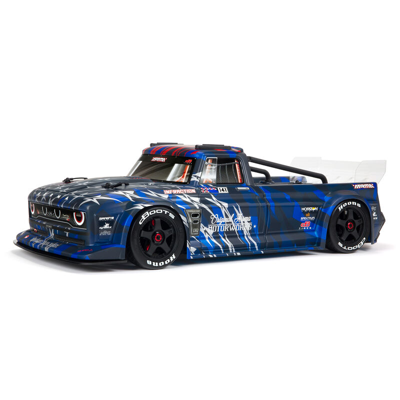 ARRMA 1/7 INFRACTION 6S BLX V2 All-Road Truck RTR, Blue