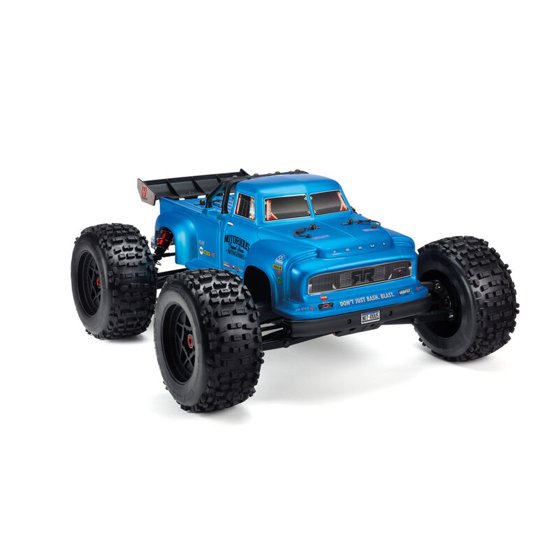 ARRMA 1/8 Painted Body, Blue Real Steel: Notorious 6S BLX AR406152