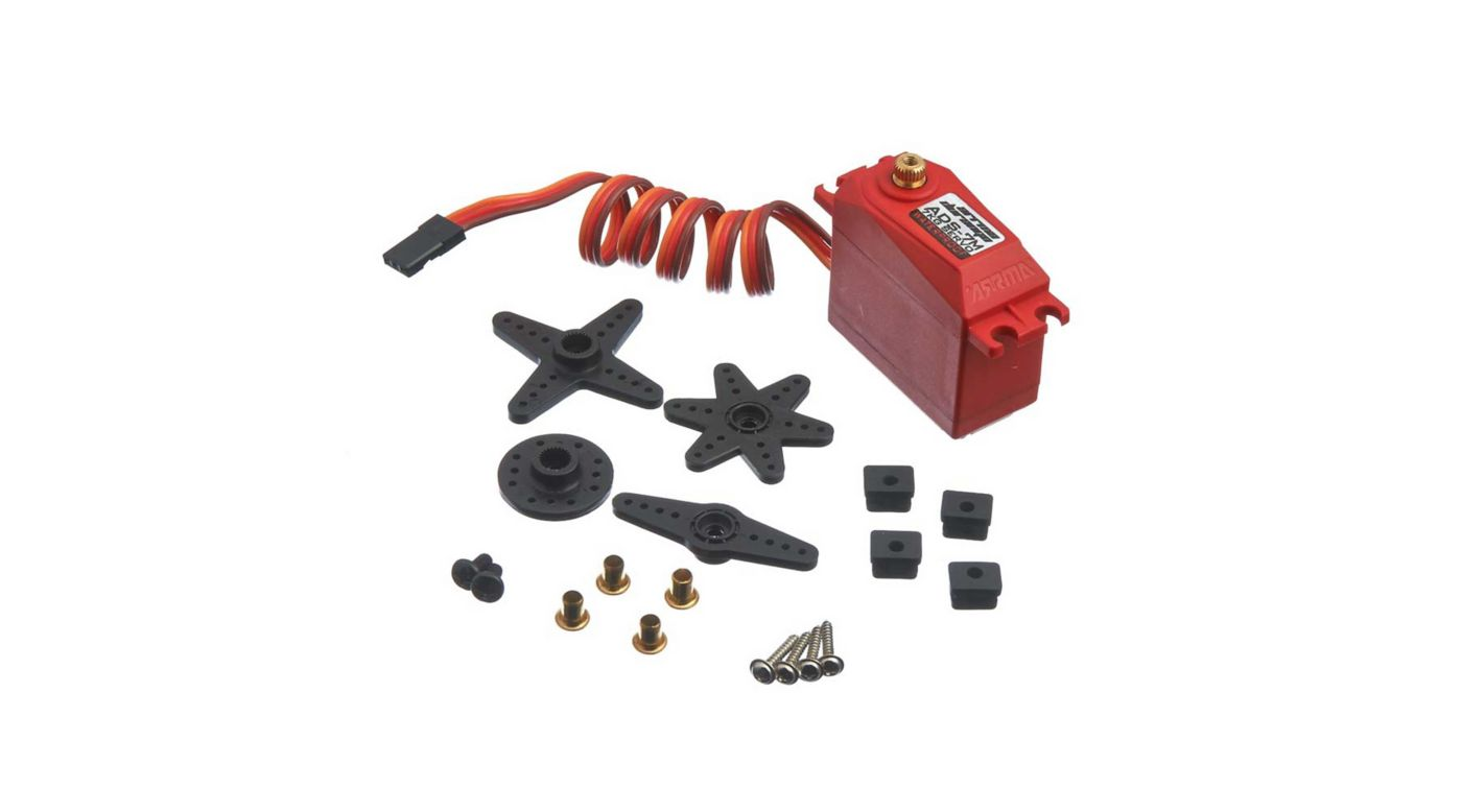 Axial ADS-7M V2 6.5kg Waterproof Servo, Red