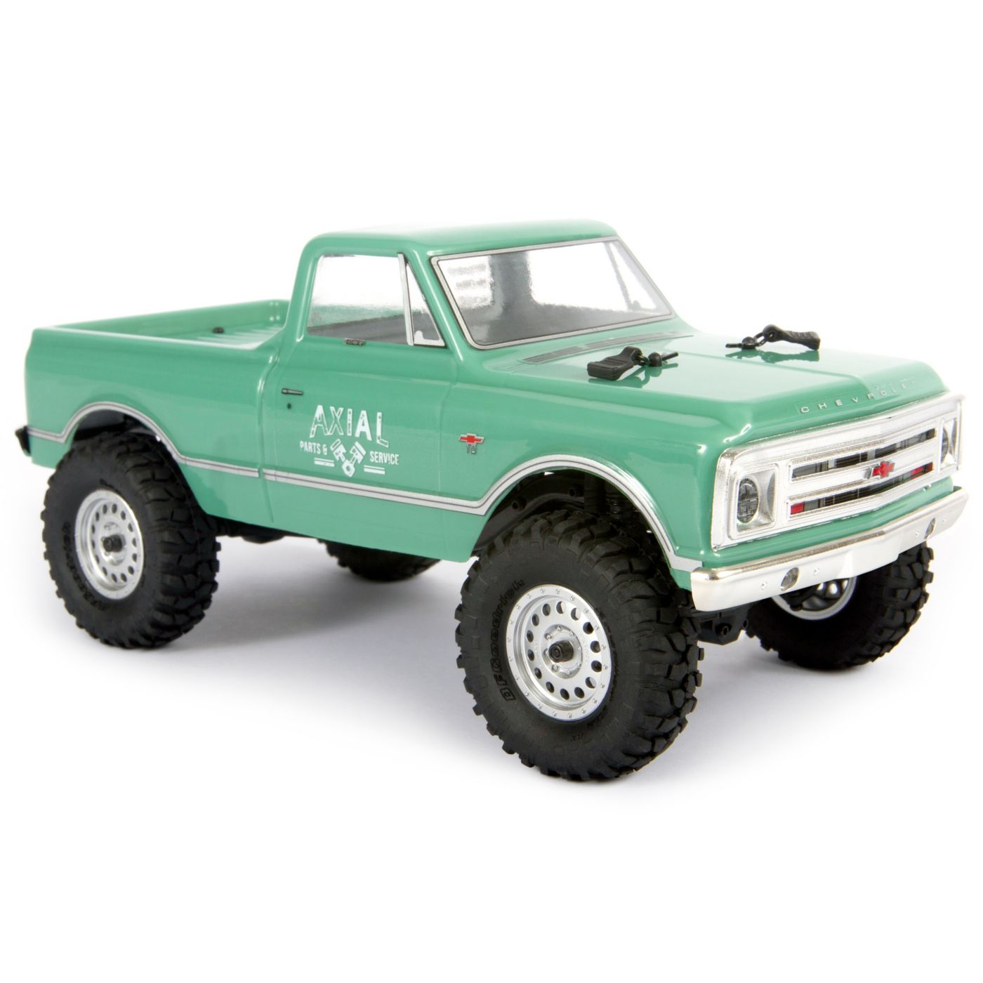 "Axial Racing 1/24 SCX24 1967 Chevrolet C10 4WD Truck Brushed RTR, Green <font color=""red""><b>(PREORDER)</b></font>  <font color=""red""><b>FREE BATTERY PROMO</b></font>"