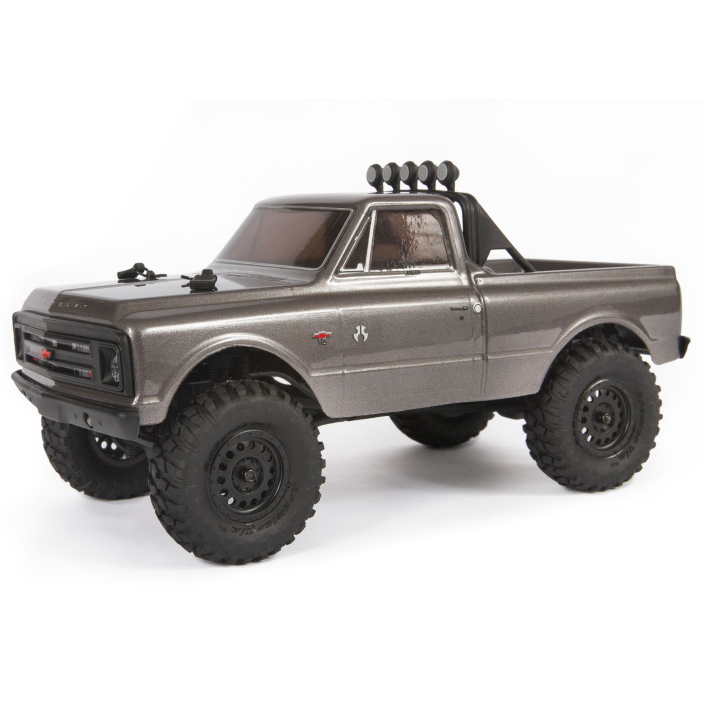 "Axial Racing 1/24 SCX24 1967 Chevrolet C10 4WD Truck Brushed RTR, Silver <font color=""red""><b>(PREORDER)</b></font> <font color=""red""><b>FREE BATTERY PROMO</b></font>"