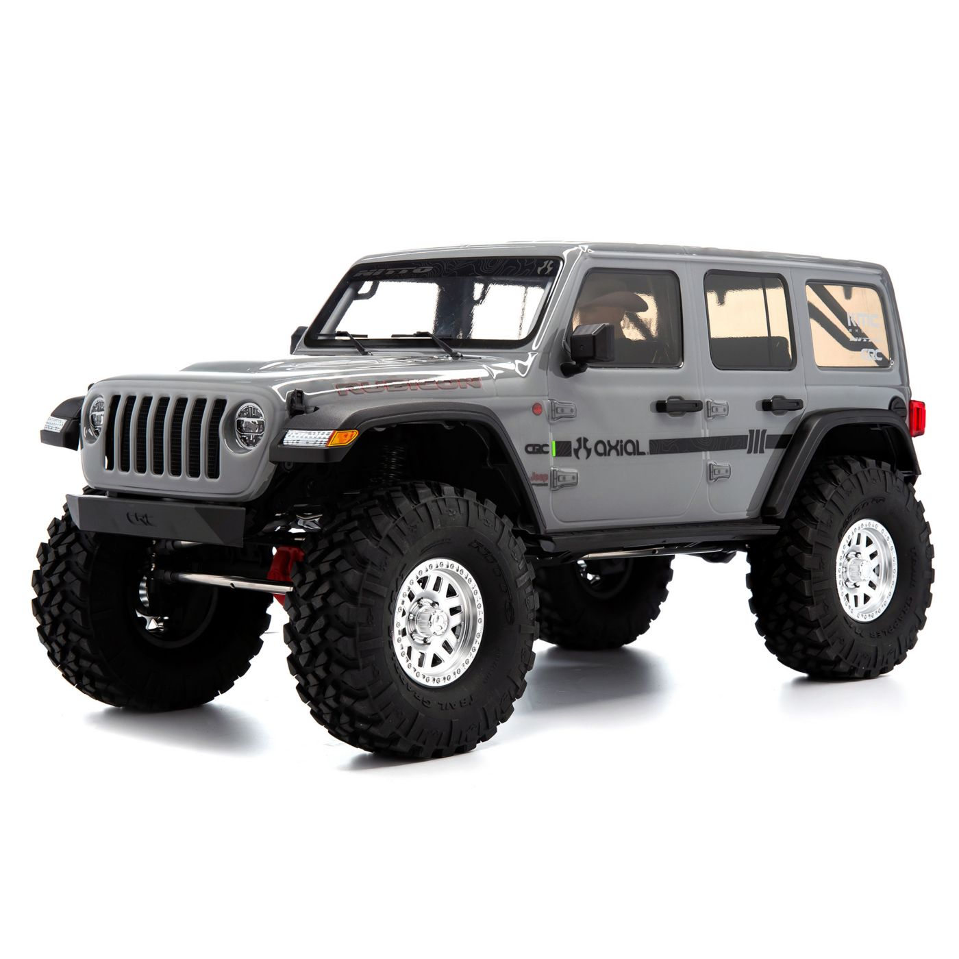Axial Racing 1/10 SCX10 III Jeep JLU Wrangler with Portals RTR, Gray