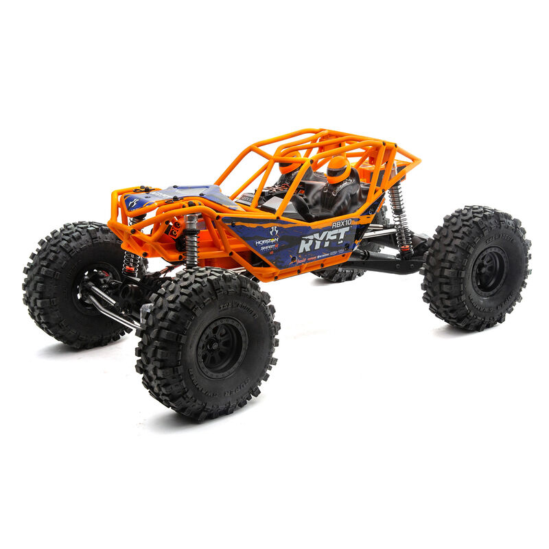 AXIAL RACING 1/10 RBX10 Ryft 4WD Brushless Rock Bouncer RTR, Orange