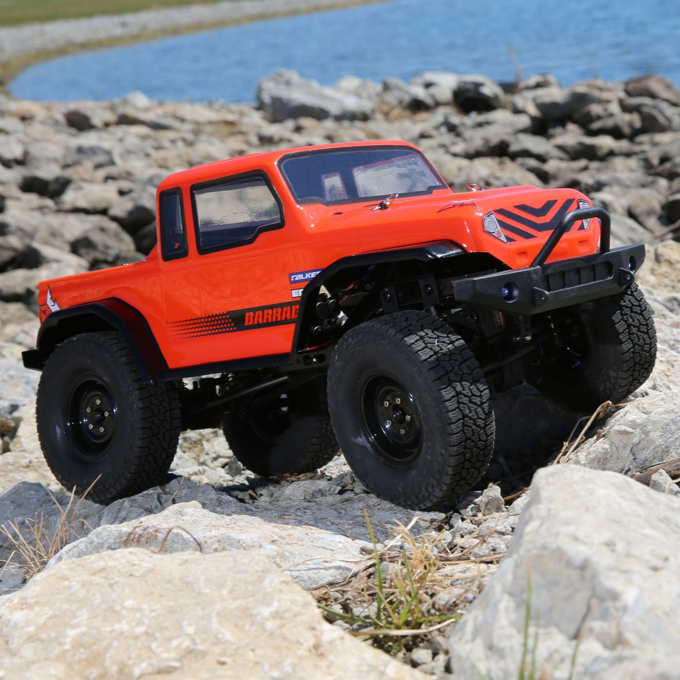 ECX 1/12 Barrage 4WD 1.9 Scaler Brushed BTD Kit