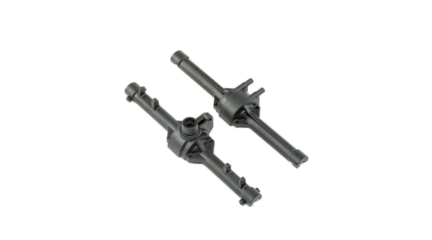 ECX Front/Rear Axle Housing V3 (132mm): 1.9 Barrage Kit, Doomsday, Barrage 2.0