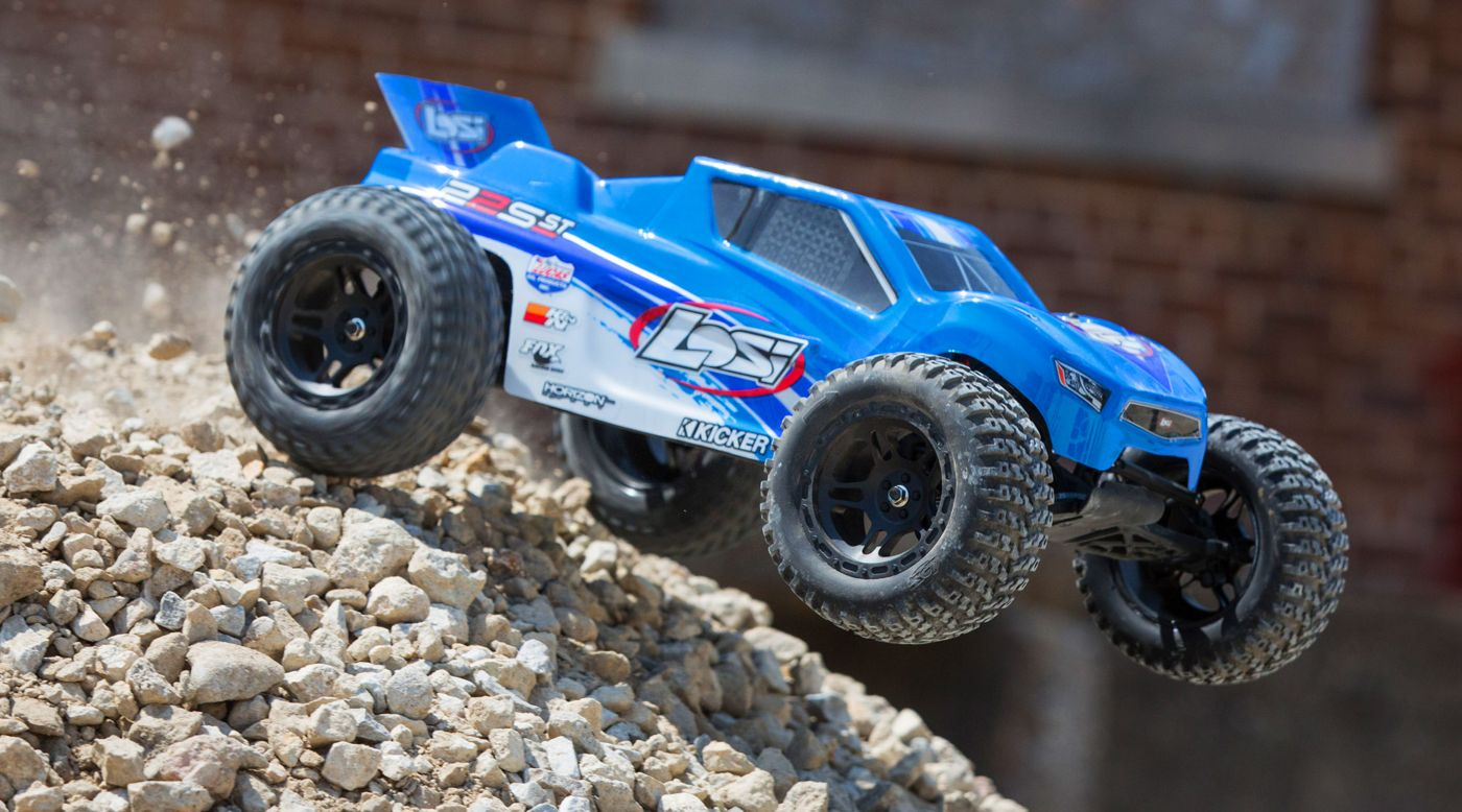 Losi 1/10 22S ST 2WD Brushless RTR with AVC Blue/Silver