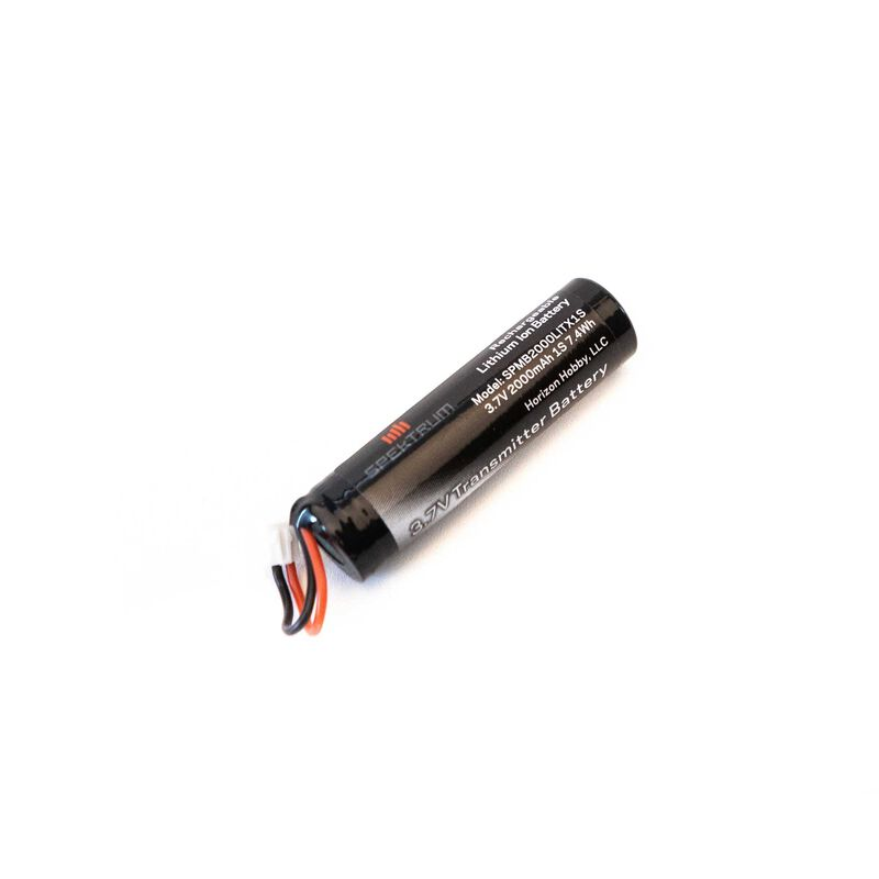 Spektrum 3.7V 1S 2000mAh LiIon Transmitter Battery: NX6, NX8